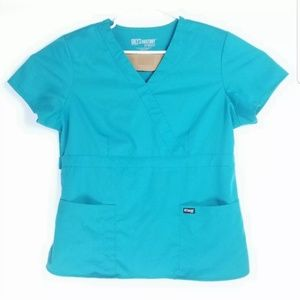 Greys Anatomy Womens Size XL Scrubs Top Medical